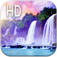 Magic Waterfall Live Wallpaper