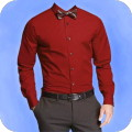 Men Simple Shirt Suit Fashion