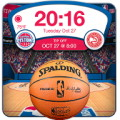 NBA 2012 3D Live Wallpaper - Put up some NBA hoops on your wall paper