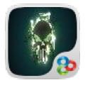 new skull 1.0 GOLauncher EX Theme