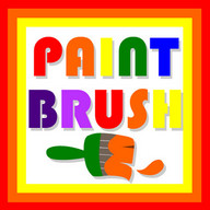 Paint Brush Drawing for Kids