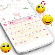 粉红爱心键盘主题