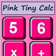 Pink Tiny Calculator