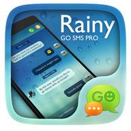 (FREE) GO SMS PRO RAINY THEME