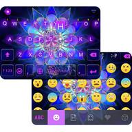 Sparkle Lotus Emoji Keyboard