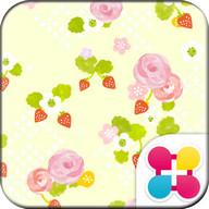 花柄壁紙 スプリングローズ