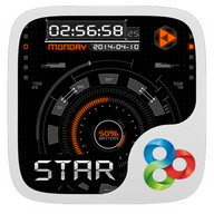 The Star GO Launcher Theme