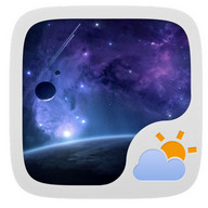UNIVERSE THEME GO WEATHER EX