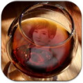 Wine Glass Photo Frame HD