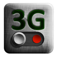 3G Data Switch - Activate and deactivate 3G with just one touch