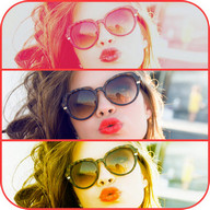 Beauty Camera Selfies Collage