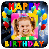 Birthday Frames - Celebrate your birthday with a good frame for your pictures