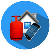 LPG Booking INDIA : Booking through Online or SMS