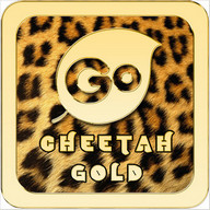 Cheetah Gold Go Keyboard