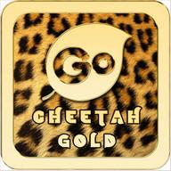 Cheetah Gold Go Keyboard