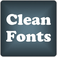Clean2 font for FlipFont free