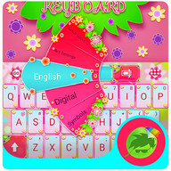 Colored Flowers Keyboard