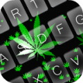 Falling Weed Keyboard Theme