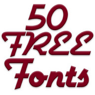 Free Fonts 50 Pack 2