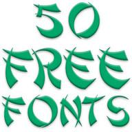 Fonts for FlipFont 50 #7