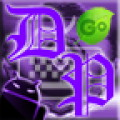 GO Keyboard Deep Purple Theme
