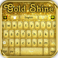Gold Shine - Theme for keyboard