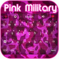 Pink Military Keyboard