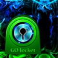 GO Locker Theme green smoke
