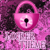 Theme Pink Dark GO Locker