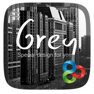 (FREE) Grey GO Launcher Theme