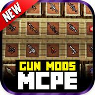 Gun Mod For MCPE!