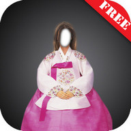 Hanbok Dress Photo Montage