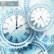 FREE Ice world time clock HD
