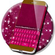 Neue Tastatur Farbe Rosa