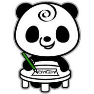 Memo Pad Panda (sticky) note