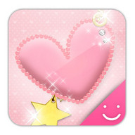 pink heart Theme