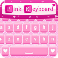 Pink Love Keyboard Themes