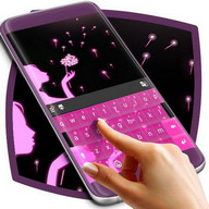 Pink Romantic Keyboard