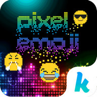 Pixel Emoji Kika Keyboard Gif