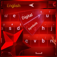Red Star Keyboard theme