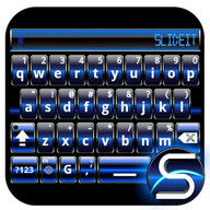SlideIT Blue Digital Skin