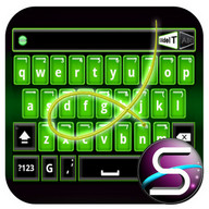 SlideIT Green Neon Skin