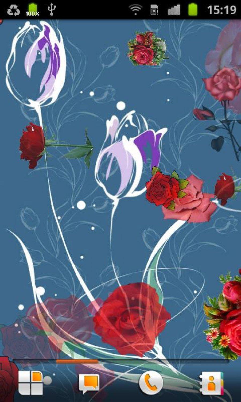 Wallpaper Bunga Mawar Bergerak Gambar Cantik Android