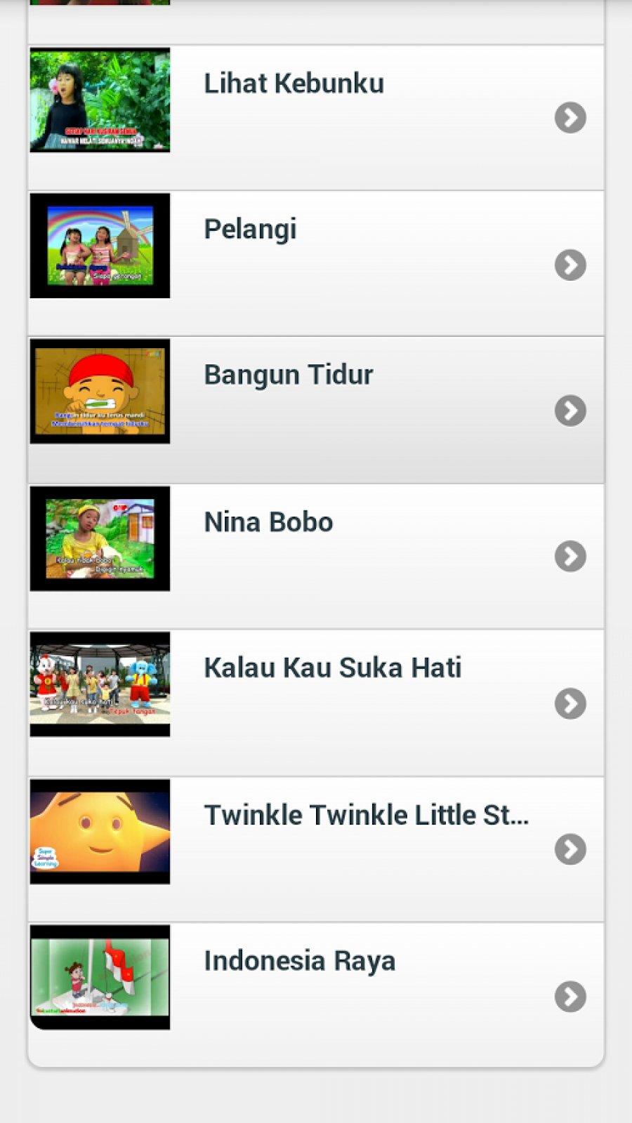 Lagu & Video Anak Indonesia