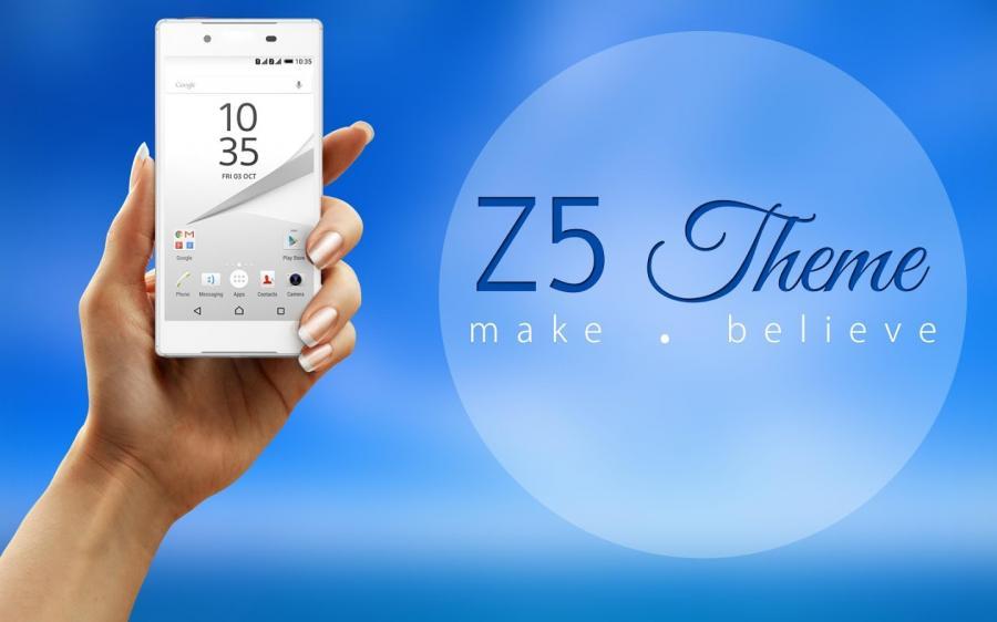 Z5 launcher theme