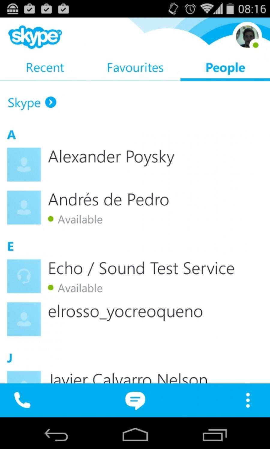 Скачачь Скайп На Андроид
