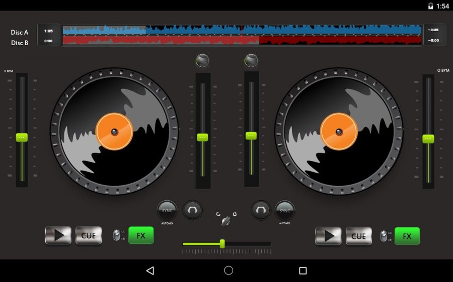Virtual dj phoneky android game