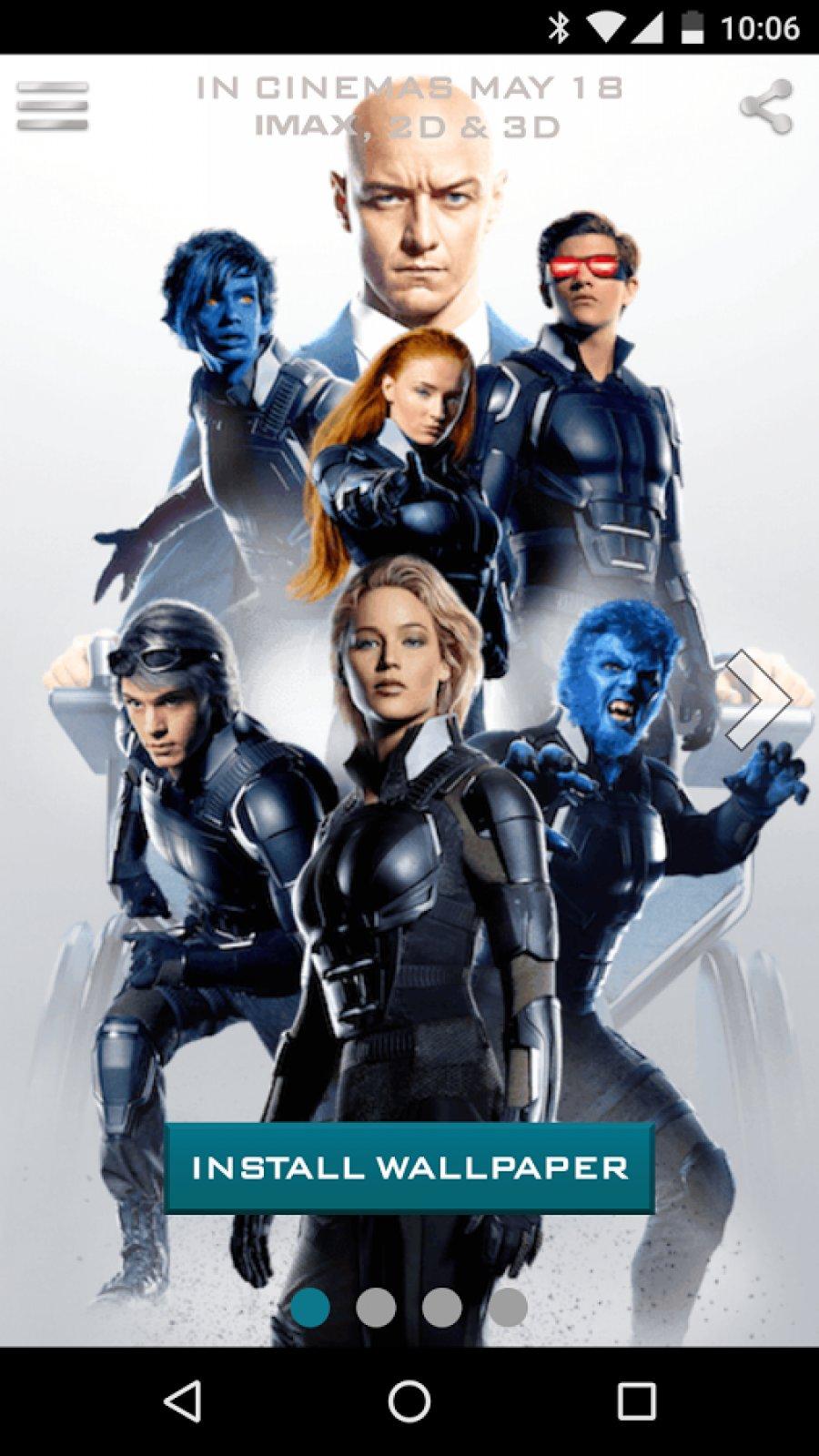 X-Men Live Wallpaper