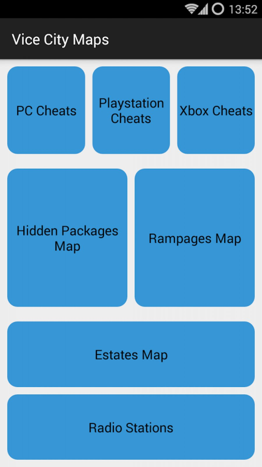 Vice City Maps