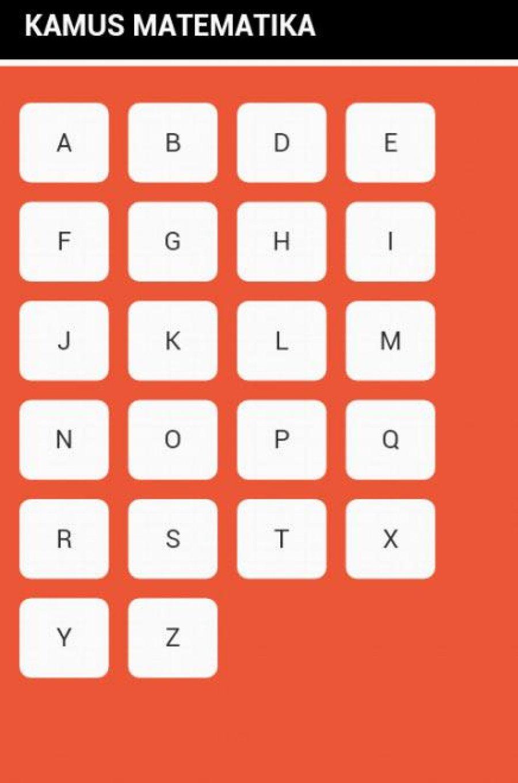 Kamus Matematika Android التطبيق Apk Com Istilah Matematika بواسطة Literoid تحميل علىphoneky